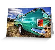 67 HR Holden Ute Greeting Card