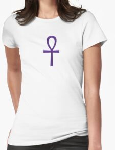 Indigo Ankh Womens Fitted T-Shirt