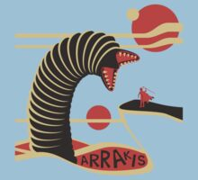 Arrakis Travel Poster Kids Tee