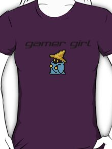 Gamer Girl - Final Fantasy Black Mage T-Shirt