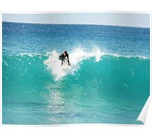 Pipeline Surfer Poster