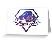 Diamond  universe Greeting Card