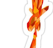 Charmander, use Flamethrower! Sticker