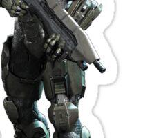Halo - Master Chief (John 117) Sticker