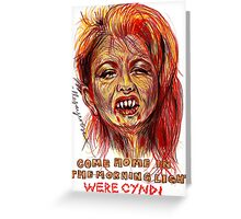 Were Cyndi Greeting Card