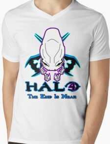 *NEW* HALO 4 - THE END IS NEAR -  Mens V-Neck T-Shirt