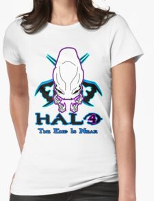 *NEW* HALO 4 - THE END IS NEAR -  Womens Fitted T-Shirt