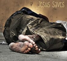 """ Jesus Saves "" by CanyonWind"