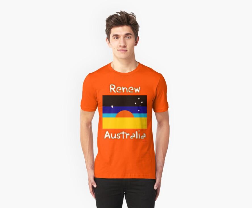 Renew Australia - New Flag Design by muz2142