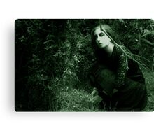 away from prying eyes Canvas Print