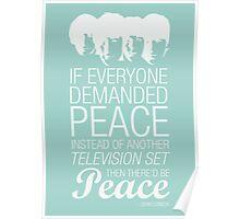 Peace - John Lennon Poster