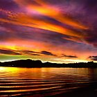 Westerly Sunset by Gail Bridger