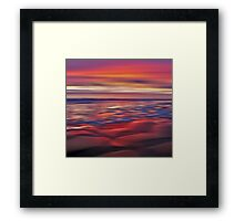 Mulberry Beach Framed Print