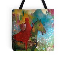 Dangerous Betty goes to Pony Club Tote Bag