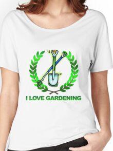 I Love Gardening Women's Relaxed Fit T-Shirt