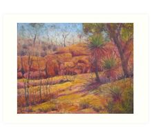 Pilbara Red  Art Print