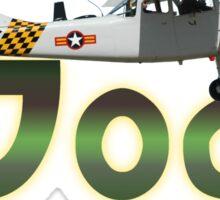 Bird Dog By Cessna Sticker