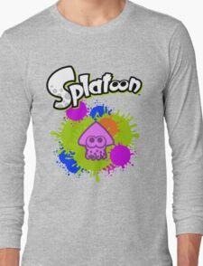 Splatoon Squid - Colour Purple Long Sleeve T-Shirt
