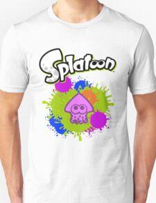 Splatoon Squid - Colour Purple T-Shirt