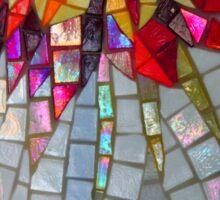 Star Flower,  photography of shiny mosaic - JUSTART © Sticker
