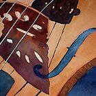 Valerie's Violin by Pat  Elliott