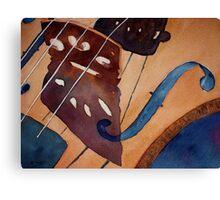 Valerie's Violin Canvas Print