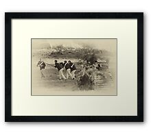 Troopers Five Framed Print