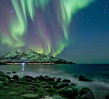 Aurora Borealis at Tromvik by Frank Olsen