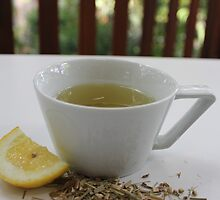 Lemongrass Tea and Lemon Slice by Ali Choudhry