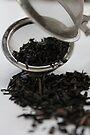 Black Tea in Strainer by AHakir