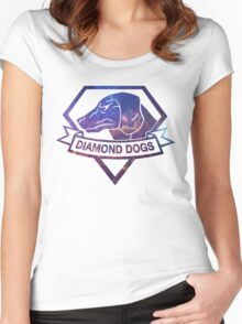 Diamond  universe Women's Fitted Scoop T-Shirt