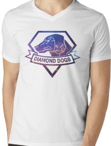 Diamond  universe Mens V-Neck T-Shirt
