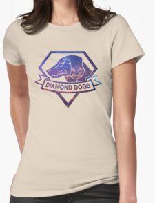 Diamond  universe Womens Fitted T-Shirt