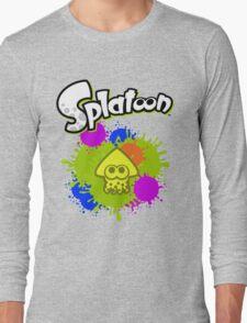 Splatoon Squid - Colour Yellow Long Sleeve T-Shirt