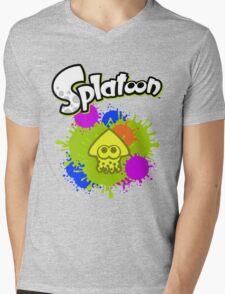 Splatoon Squid - Colour Yellow Mens V-Neck T-Shirt