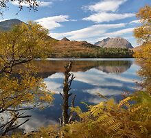 Torridon. Loch Clair and Liathach. Autumn Colours. Highlands of Scotland. by photosecosse /barbara jones