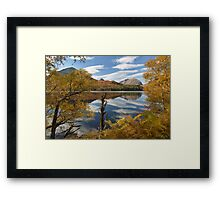 Torridon. Loch Clair and Liathach. Autumn Colours. Highlands of Scotland. Framed Print