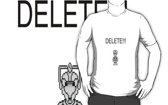 Doctor Who: DELETE!!! by silverhammer37