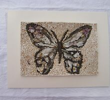 BUTTERFLY ~ 1 OUTDOOR FRAME by Tuartkatz