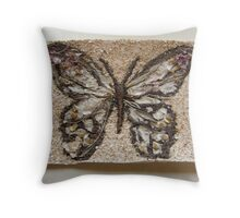 BUTTERFLY ~ 3 HOPE Throw Pillow