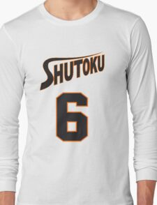 Kuroko No Basket Shutoku 6 Midorima Jersey Anime Cosplay Japan T Shirt Long Sleeve T-Shirt