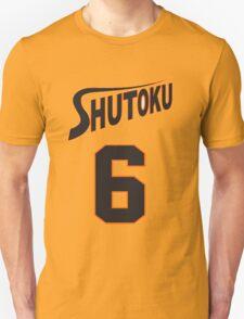 Kuroko No Basket Shutoku 6 Midorima Jersey Anime Cosplay Japan T Shirt Unisex T-Shirt