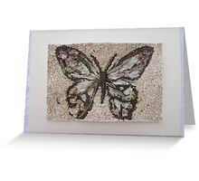 BUTTERFLY ~ 7 FOLIO Greeting Card