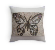 BUTTERFLY ~ 7 FOLIO Throw Pillow