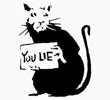 banksy - rat (you lie) Unisex T-Shirt