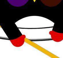Pocket hockey penguin Sticker