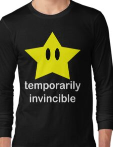 Temporarily Invincible Long Sleeve T-Shirt