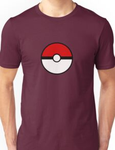 Pokemon - Pokeball WHITE RED Unisex T-Shirt