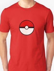 Pokemon - Pokeball WHITE RED T-Shirt