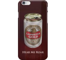 Lannister Gold iPhone Case/Skin